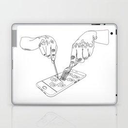 Devouring social media Laptop & iPad Skin