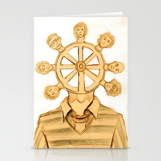 The helm Stationery Cards