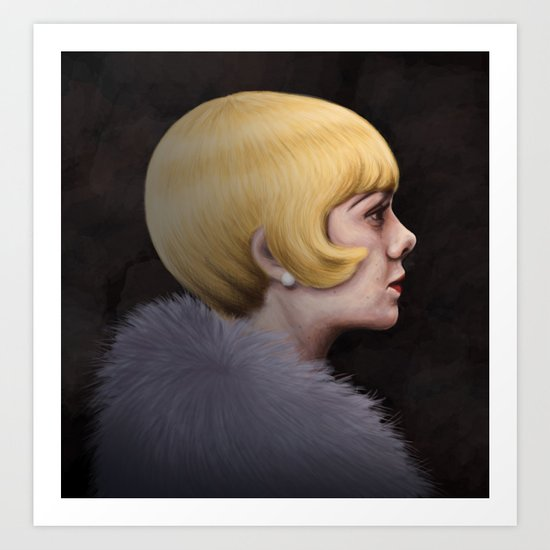 Miss Daisy Art Print