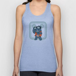 Marty McBear Unisex Tank Top