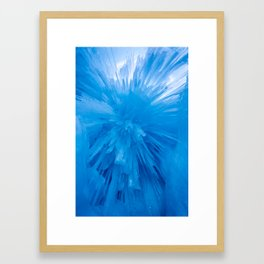 Icicle Ceiling Framed Art Print