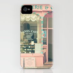 Sweet Cafe iPhone (4, 4s) Slim Case