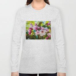 Pink apple blossom Long Sleeve T-shirt