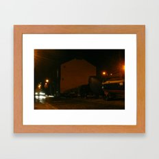 Evening Lights 5 Framed Art Print