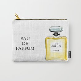 Yellow Perfume Carry-All Pouch