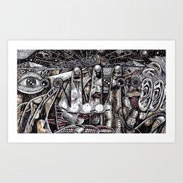 Mind Frame (Still Frame 4) Art Print