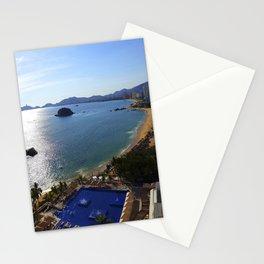 Acapulco Beach Stationery Cards
