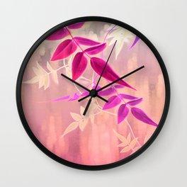 Jasmine Sunrise Wall Clock