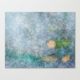 stained fantasy microorganisms Canvas Print