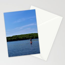 Paddleboarders Stationery Cards