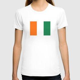 Cote d`Ivoire country flag ivory coast T-shirt