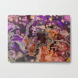 Blossoms by ValVaania Metal Print