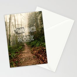 Wander More - Forest Stationery Cards