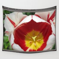 jem Wall Tapestries featuring Triumph Tulip named Carnaval de Rio by JMcCombie
