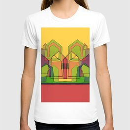 Two Suns Above the Village T-shirt