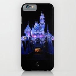 Sleeping Beauty's Winter Castle iPhone Case