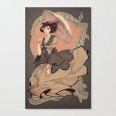 Pose y Confeccion Canvas Print