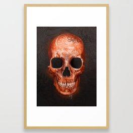 Street Skull Framed Art Print