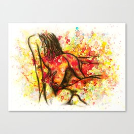 Hot Breakfast Canvas Print
