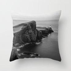 Neist Point Isle of Skye Throw Pillow