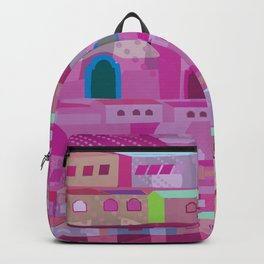 Ecatapec in Purple Backpack
