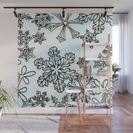Crystal Structures Wall Mural