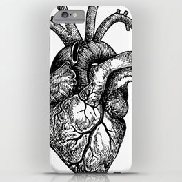 Inky Breaky Heart iPhone Case