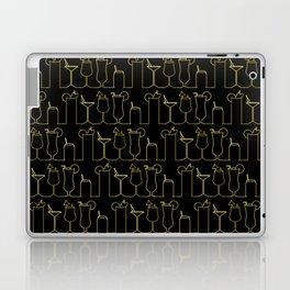 Happy Hour - Black/Gold Laptop & iPad Skin