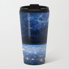 Earth and Galaxy Metal Travel Mug