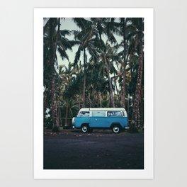 Big Island Van Art Print