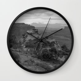 Island in the Sky Wall Clock