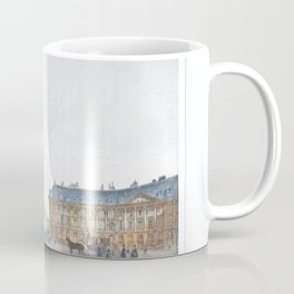 Paris art print Paris Decor office decoration vintage decor PLACE VENDOME of Paris Coffee Mug