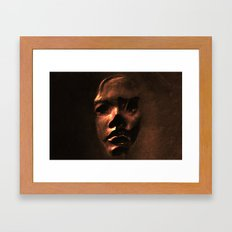 The False Face Society  Framed Art Print