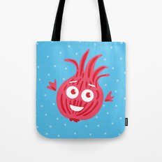 Cute Red Onion Tote Bag
