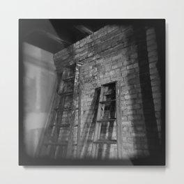 Latter Ladders. Metal Print