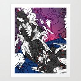 ULTRACRASH 7 Art Print