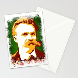 Friedrich Nietzsche Stationery Cards