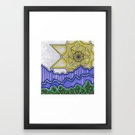 SunStar Framed Art Print