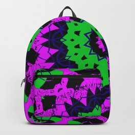 Neon Mandala Backpack