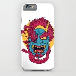 Demon Japanese Dragon iPhone Case