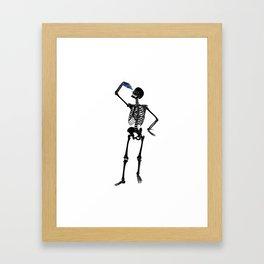 Skulduggery Framed Art Print