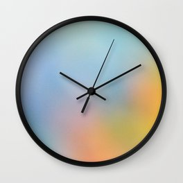 Summer Black Rainbow 2012 Wall Clock