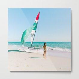 California Colors - Sailing - v15 Metal Print