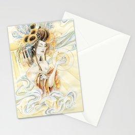Sun Oiran Stationery Cards