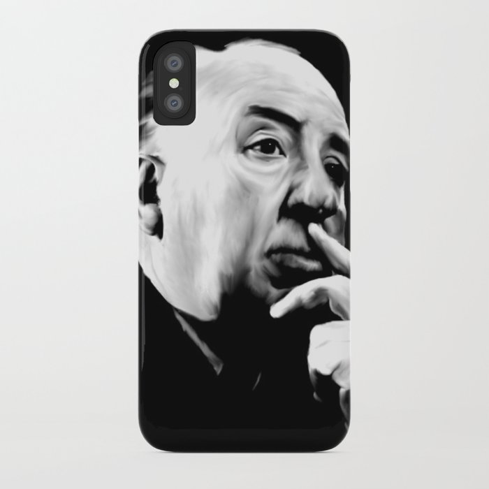ALFRED HITCHCOCK: Legend iPhone Case
