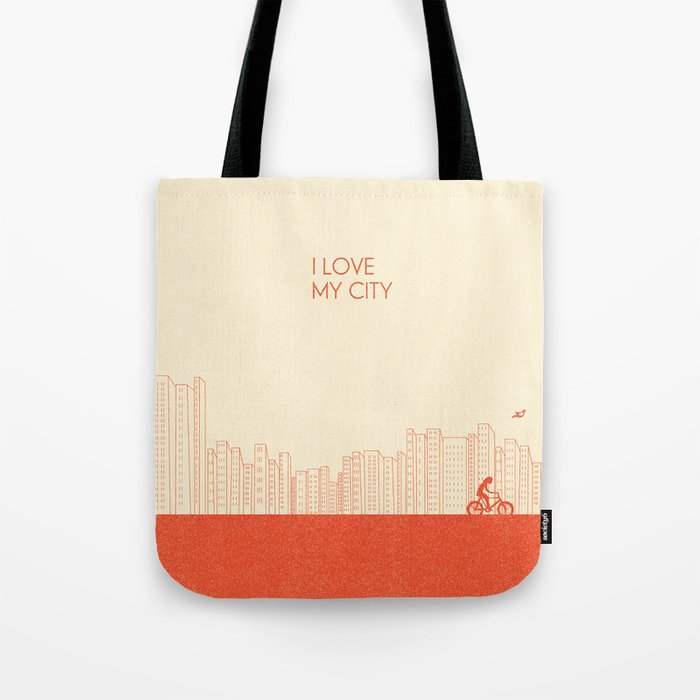 I love my City Tote Bag
