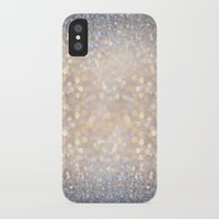 glitter iPhone & iPod Cases featuring Glimmer of Light (Ombré Glitter Abstract) by soaring anchor designs
