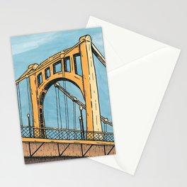 Roberto Clemente Bridge - Pittsburgh Stationery Cards