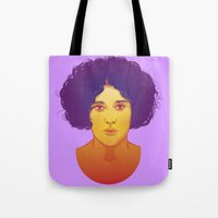 lana Tote Bags featuring Lana by Esther Cerga