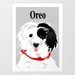 Tibetan Terrier Art Print